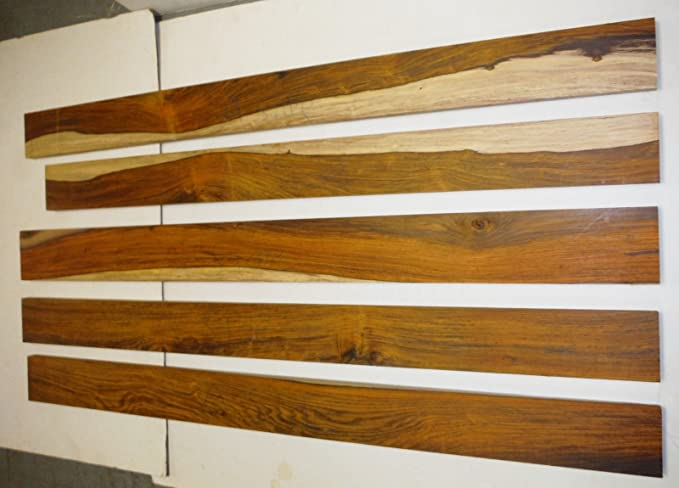 Cm d épaisseur raboté cocobolo planches de bois de rose avec