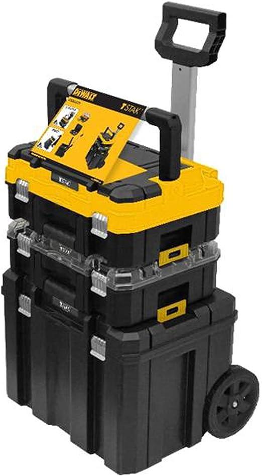 DEWALT DWST1-81049 TStak Tower Rolling - Cajas de almacenamiento para herramientas móviles: Amazon.es: Bricolaje y herramientas