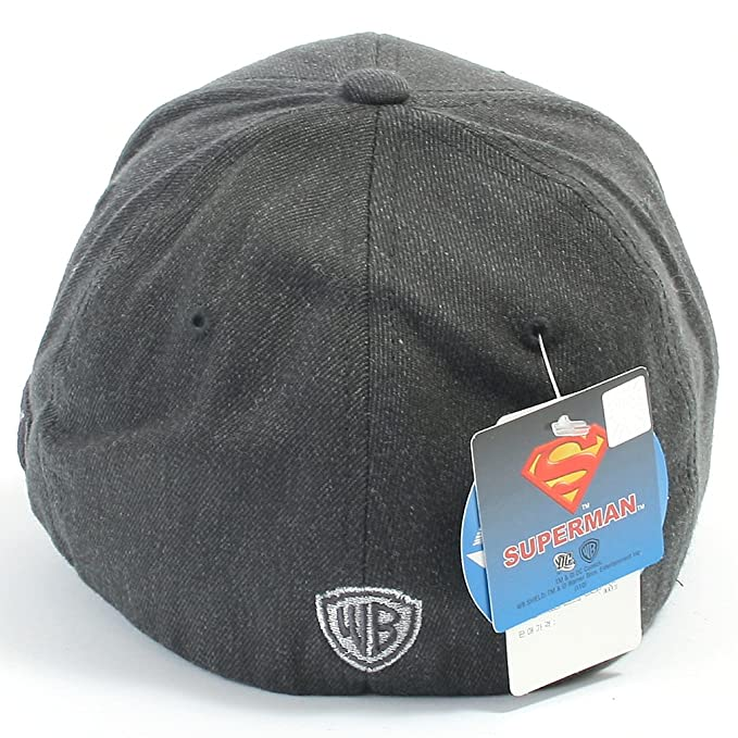 d31ef42679a ililily Superman Baseball Cap with Superman Shield Embroidery Fitted  Trucker Hat (ballcap-602-7-M)  Amazon.co.uk  Clothing