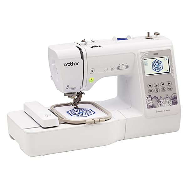 Best Embroidery Sewing Machine For Beginners: Brother SE600
