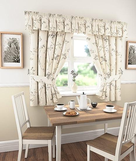 Libby-Tende da cucina, stile classico, colore: grigio ardesia, a ...