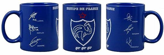 Inconnu FFF French Football Federation Men fffgouspo Water Bottle Blue 600/ml