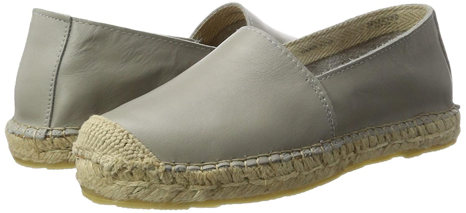 Selected Mujer Sfmarley Nuevo Leather Leather Leather Espadrilles, Alpargatas para Mujer feeb89