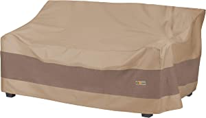 Duck Covers Elegant Water-Resistant 79 Inch Patio Sofa Cover