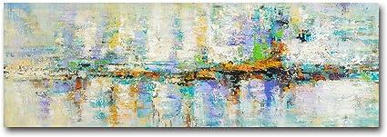 FajerminArt motivo astratto Dipinto su tela con stampa astratta su tela