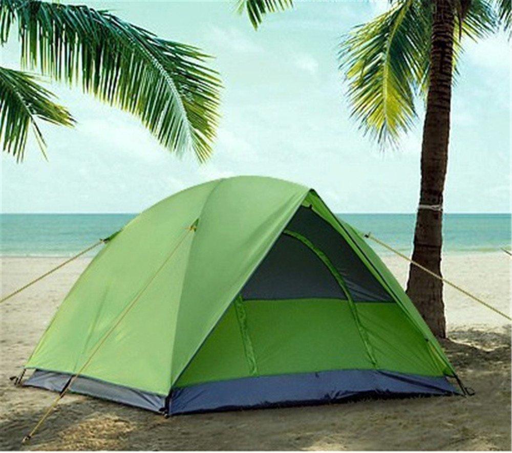 Kaxima Outdoor-doppelte Kleber Regen-Proof camping Zelt