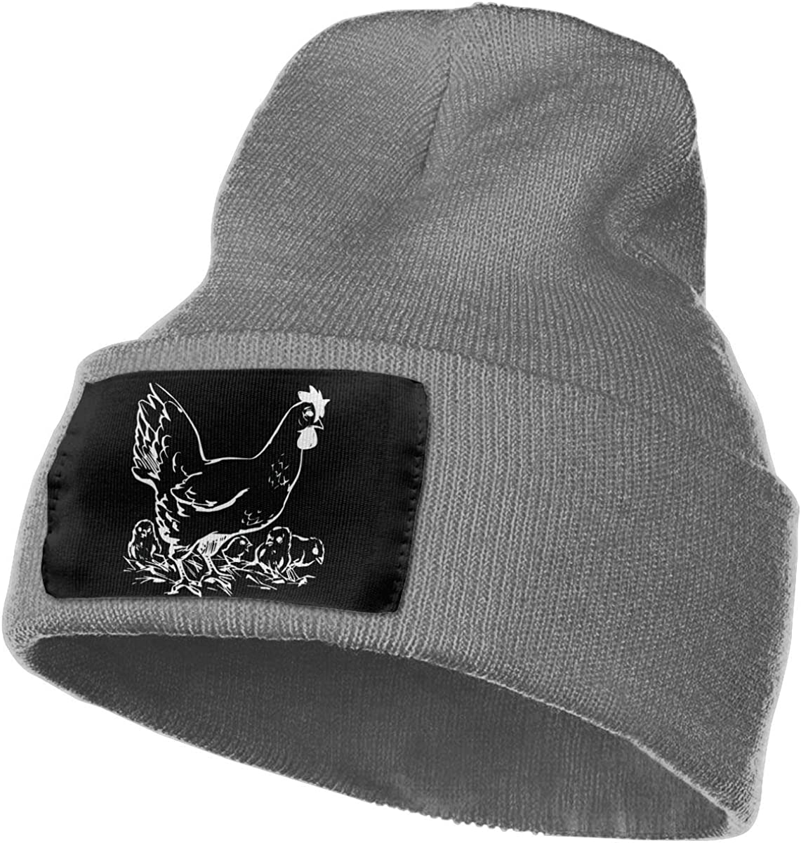 Chickens Men /& Women Knitting Hats Stretchy /& Soft Ski Cap Beanie