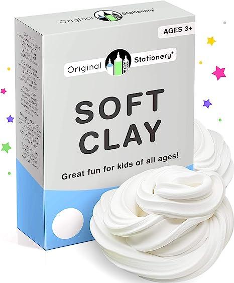 Oferta amazon: Original Stationery Soft Clay para Slime - Arcilla Suave o Pasta para Modelado Agrega al pegamento y a la espuma de afeitar para hacer un Slime de mantequilla 230 gramos - Sirve para 10 Slimes