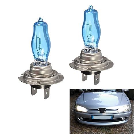 AUTO KFZ 12V 100W H1 XENON HALOGEN GLÜHLAMPE HALOGENBIRNEN LAMPE NEU 2 STK