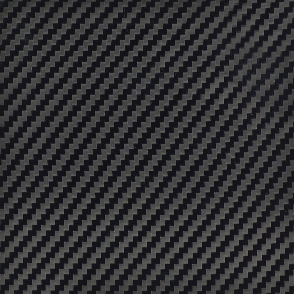 InstallBay AVBKCF-5 Black Color Carbon Fiber Fabrication Wrap - 5 Linear Yards by Install Bay
