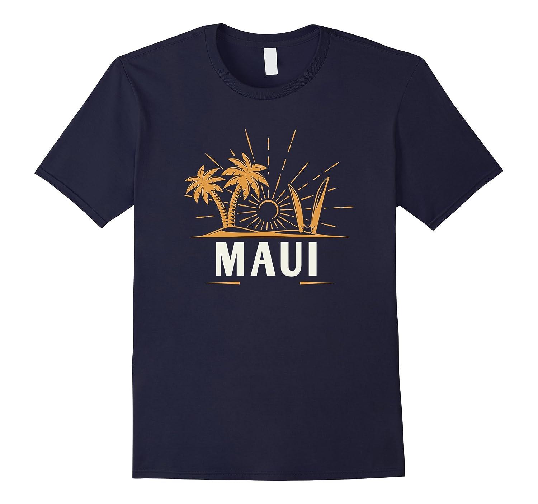 Maui T-Shirt Vintage Beach Hawaii-T-Shirt