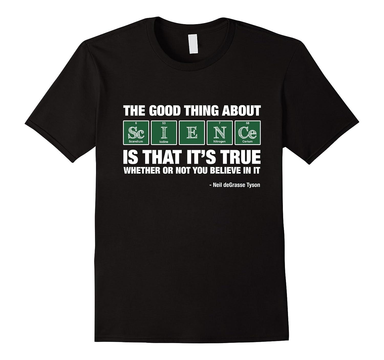 Neil dNeil deGrasse Tyson Believe T-Shirt-Vaci