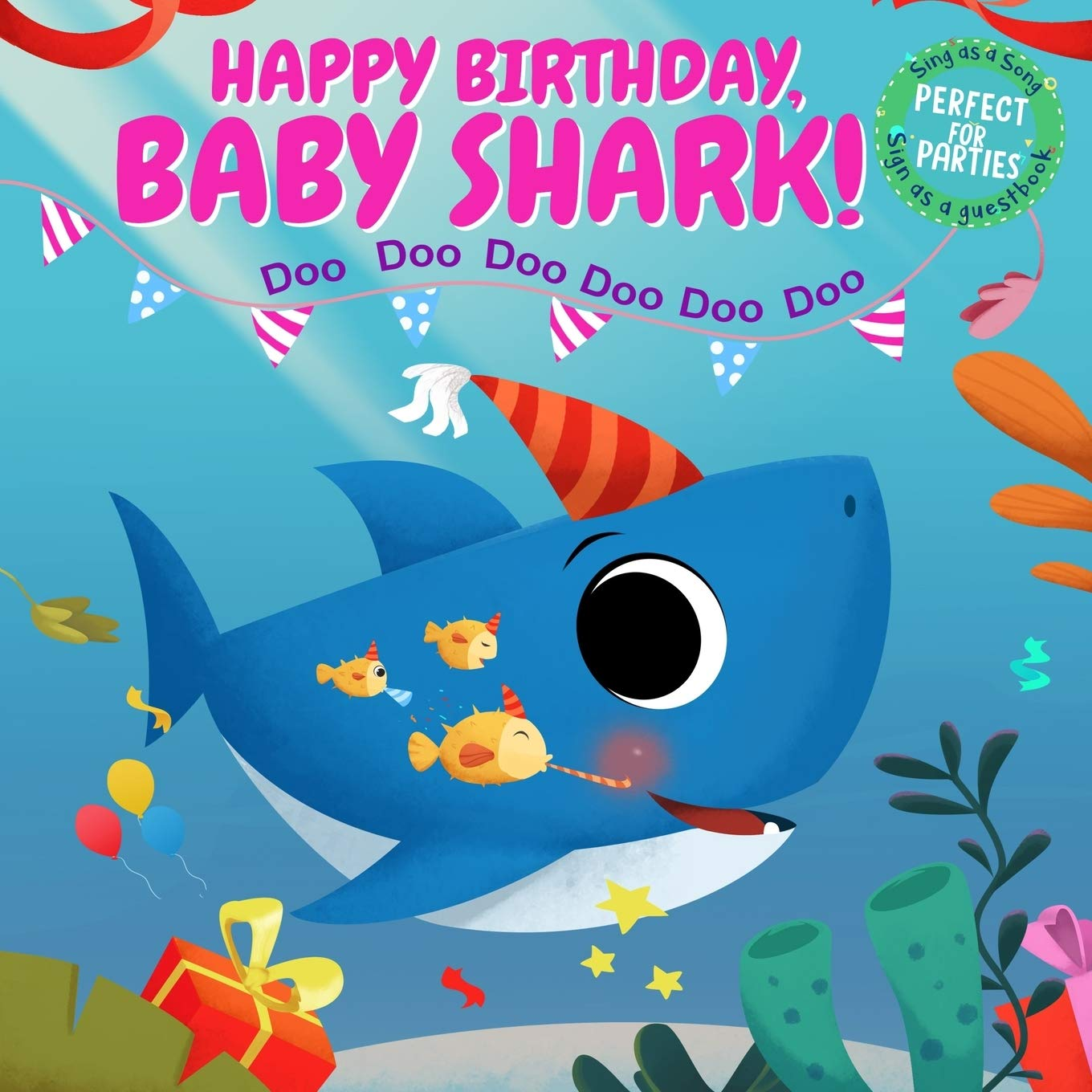 happy birthday baby shark sing as a