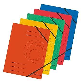 herlitz Spiralhefter A4 Colorspan Orange