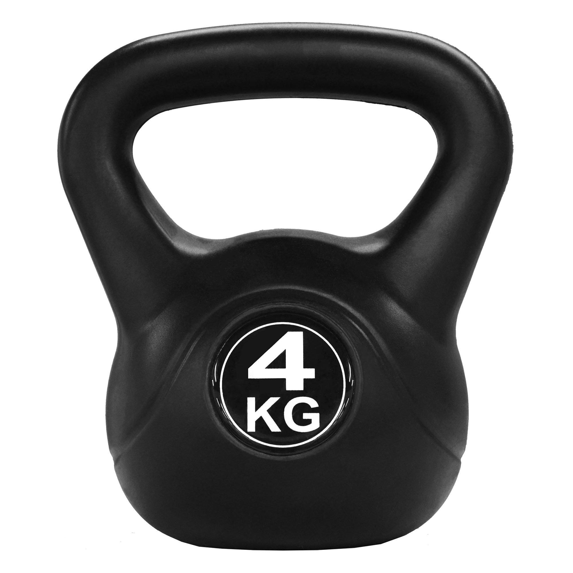Athlyt Unisexs Cast Kettlebell Ergo 12 kg Black