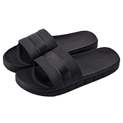 Amazon.com   clootess Shower Shoes Bath Slipper Slides Sandal for Women and Mens Bathroom Pool Non-Slip Quick Drying   Slippers