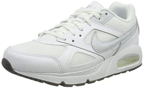 b1fe9ec384e0d Nike Women's WMNS Air Max Ivo Trainers, White/Cool Grey/Pure Platinum,