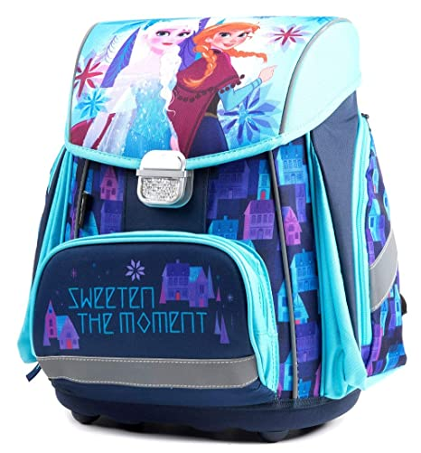 SCOOLSTAR Frozen-7teilig - Set de útiles escolares Azul azul