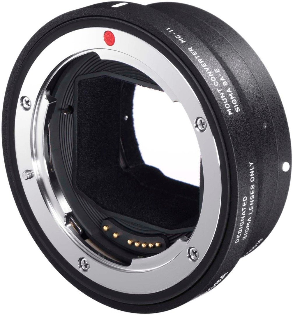 Sigma MC-11 Lens Mount Converter (Canon EF to Sony E-Mount) with 32GB SD Card by Sigma (Image #4)
