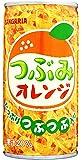 サンガリア つぶみオレンジ 190g缶×30本