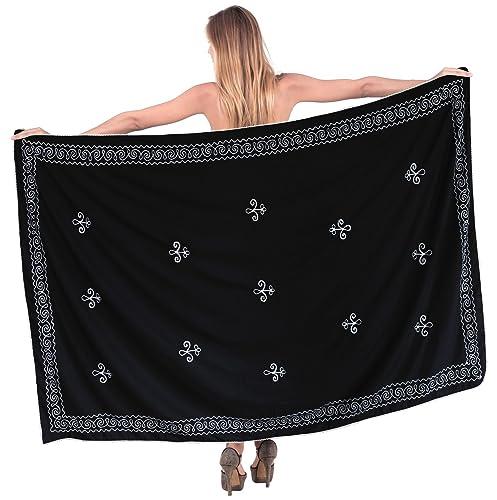 La Leela involucro di costumi da bagno costume da bagno coprire costume da bagno sarong vestito dell...
