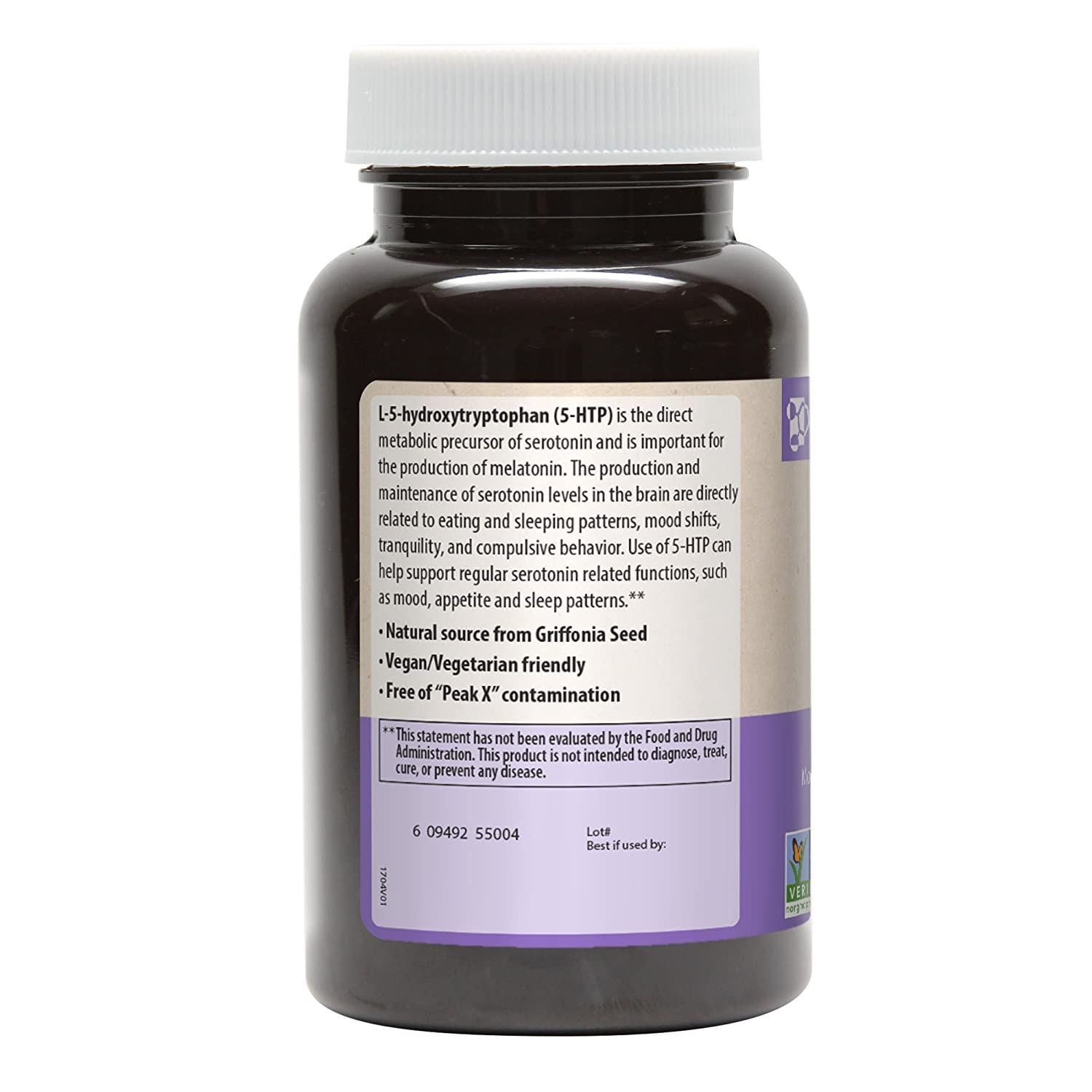5-HTP 100mg (Griffonia Bean Extract) Purity Assured by HPLC