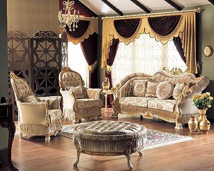 Casa Padrino barroco neoclásico conjunto de sofás - sofá de ...