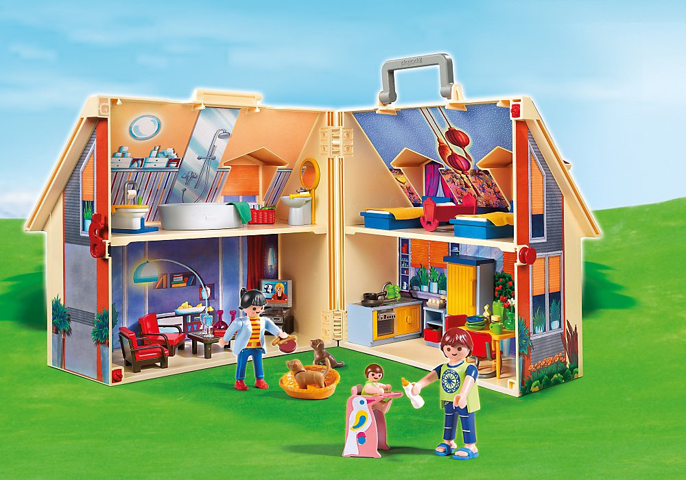 PLAYMOBIL Take Along Modern Doll House by PLAYMOBIL® (Image #1)