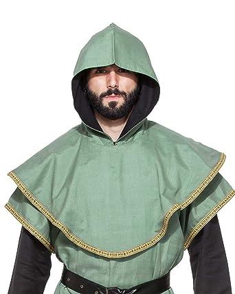 Medieval Renaissance Pirate Viking LARP Mens Costume Huntsman Hood  sc 1 st  Amazon.com & Amazon.com: Medieval Renaissance Pirate Viking LARP Mens Costume ...