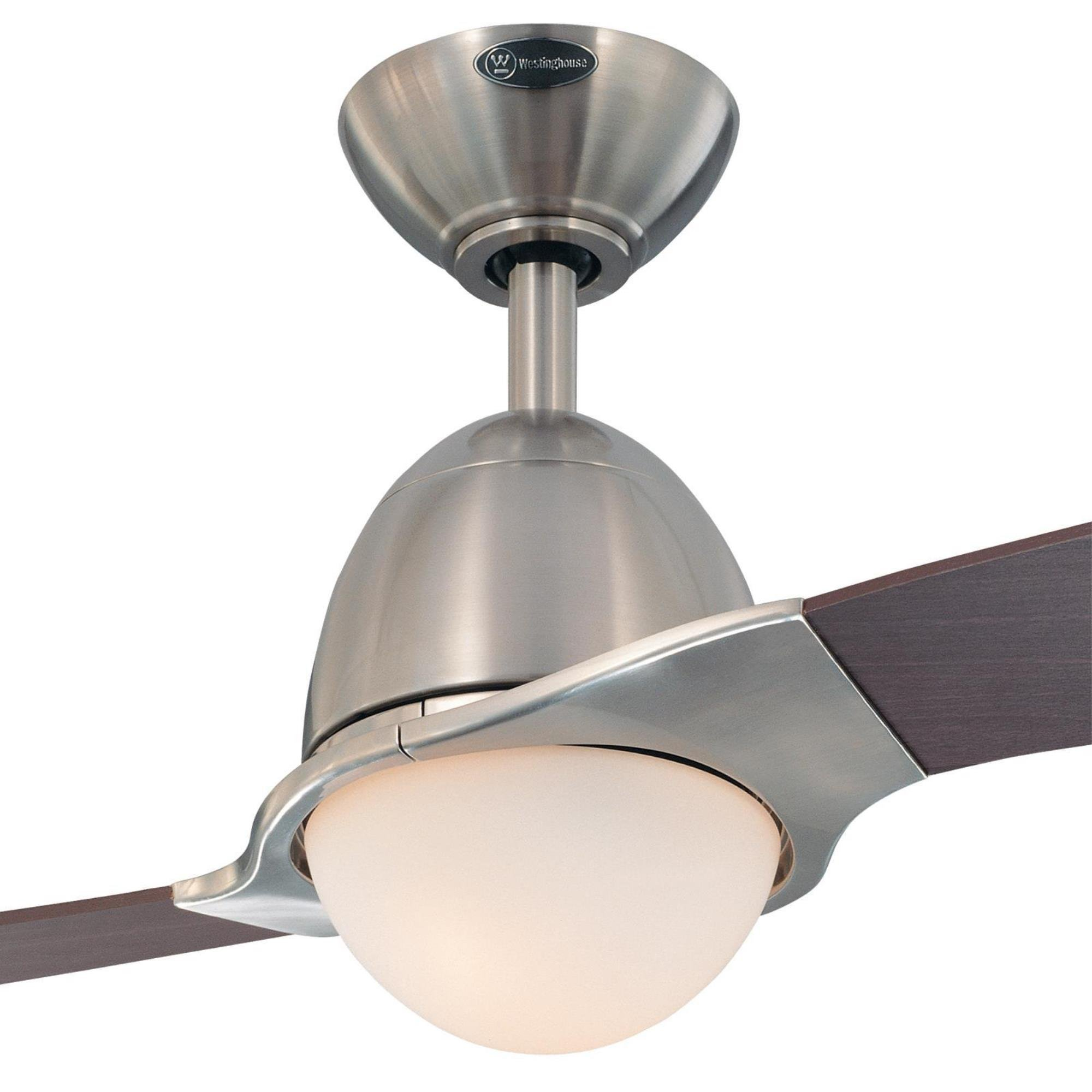 7216100 Solana 48-Inch Brushed Nickel Indoor Ceiling Fan, Light Kit with Opal Frosted Glass by Westinghouse (Image #6)