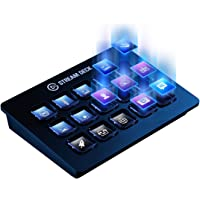 Elgato Stream Deck - Live Content Creation Controller with 15 customizable LCD keys, adjustable stand, for Windows 10…