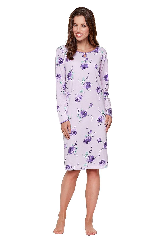 Verschiedene Modelle Moonline modernes und bequemes Damen Nachthemd mit weicher Baumwolle