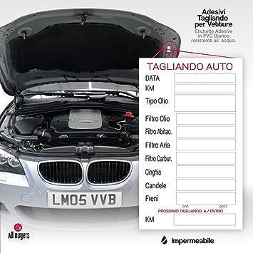 Pegatinas DE PVC revisión ITV coche para coche aceite freno ...