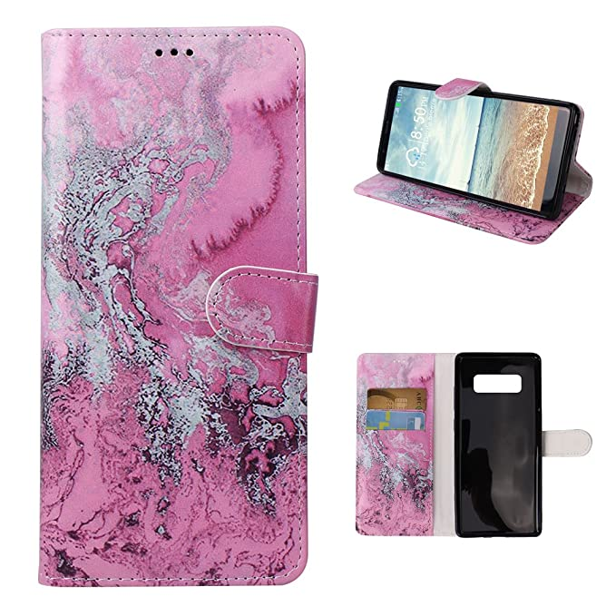 1 opinioni per Cover Galaxy Note 8 Portafoglio, Moon mood® Wallet Case per Samsung Galaxy Note