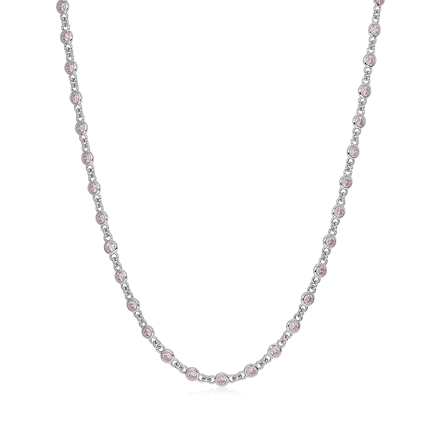 MASSETE Sterling Silver 925 By the Yard Long Opera Length Necklace Chain 35
