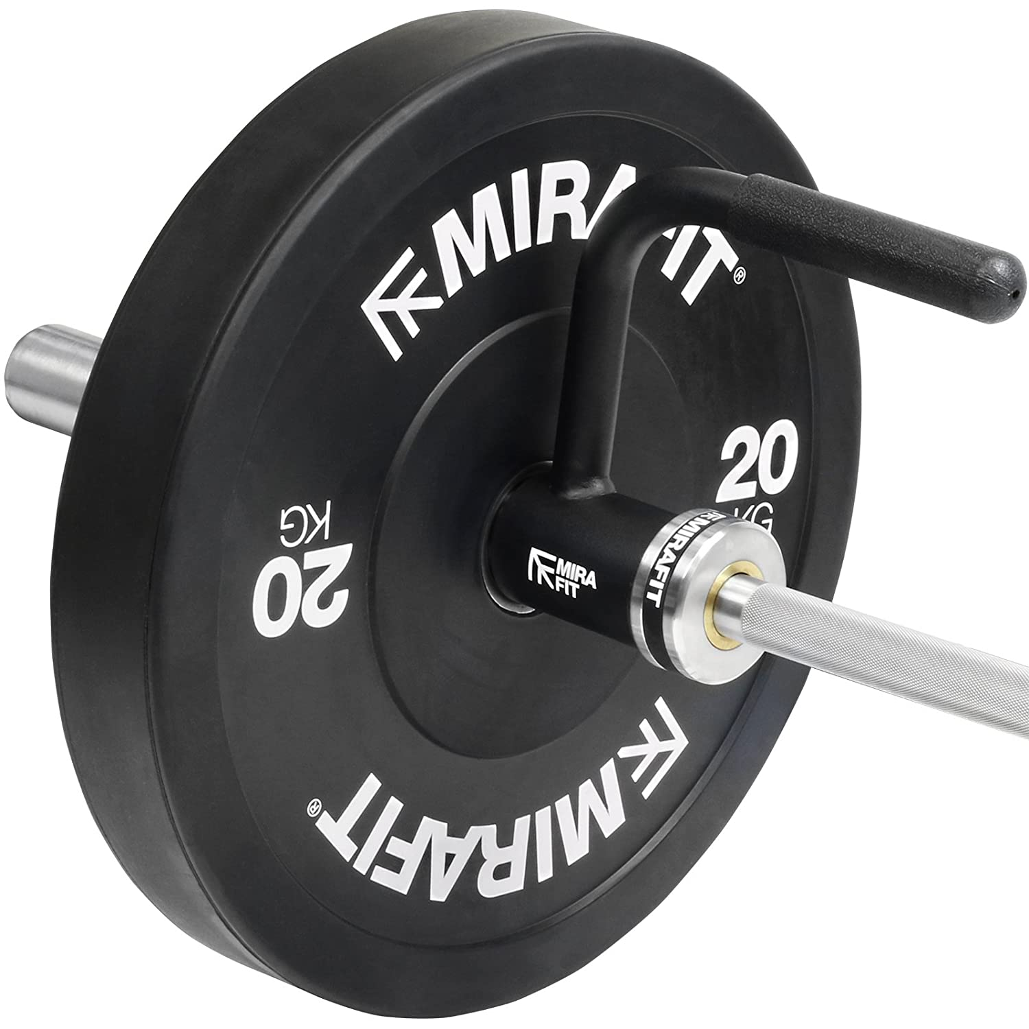 Mirafit Single Landmine Handle for Barbell Rows /& Lateral Raises
