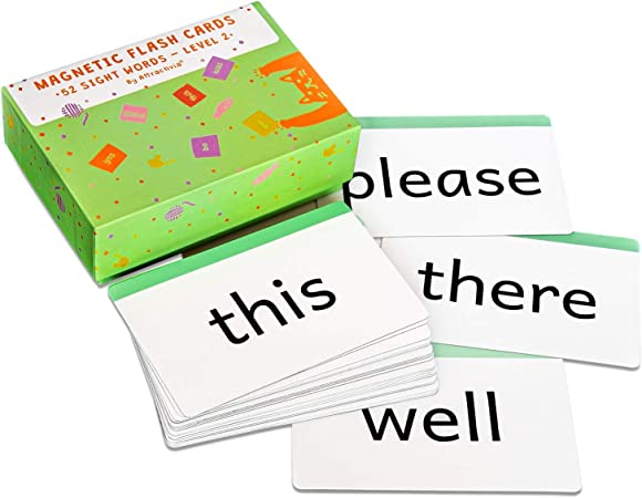 31 Three Letter Sight Word Flashcards.