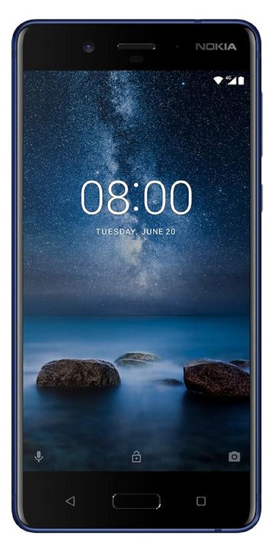 NOKIA Nokia 8 Dual-SIM TA-1052 【Tempered Blue 64GB 海外版 SIMフリー】 B0768C1B4B