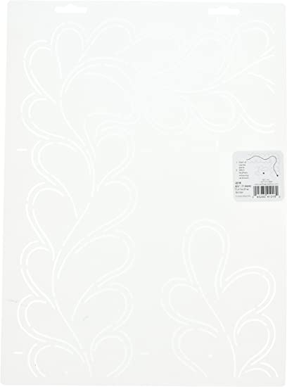 Quilting Creations Feather Border Quilt Stencil 8