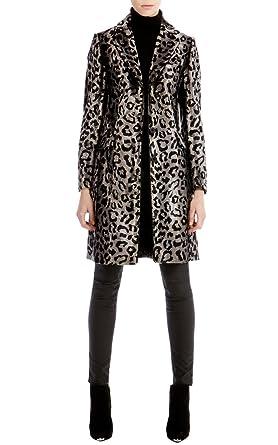 3f684773065e Karen Millen leopard Animal Print Pony Faux Fur Winter Coat (Women's UK  Size ...
