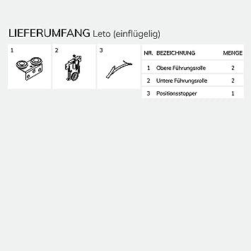 Bausatz U0026quot;Letou0026quot; Beschlagbeutel Für Eine Schiebetür