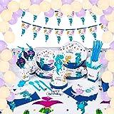 Amazon.com: Dinosaur Party Supplies Serve 12 platos ...