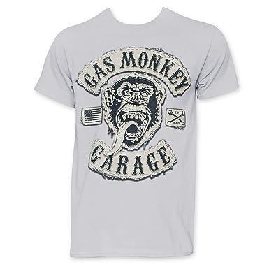 aaedcd51bad Amazon.com  Gas Monkey Garage Men's Grey Tee Shirt  Clothing
