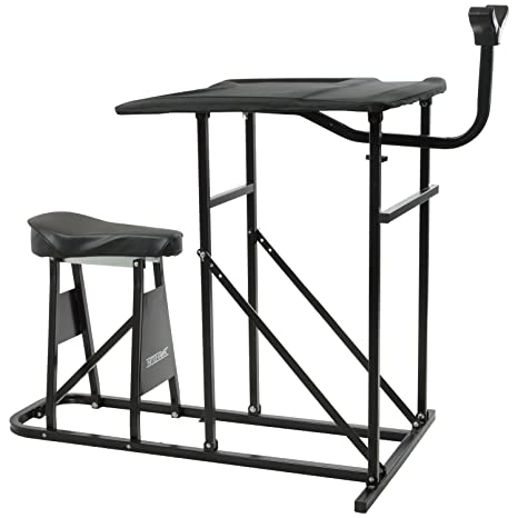 Groovy Nitehawk Padded Shooting Table Gun Rifle Bench Rest Target Range Hunting Chair Pdpeps Interior Chair Design Pdpepsorg