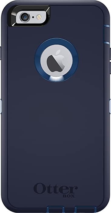 OtterBox DEFENDER iPhone 6 Plus/6s Plus Case - Frustration Free Packaging - INDIGO HARBOR (ROYAL BLUE/ADMIRAL BLUE)