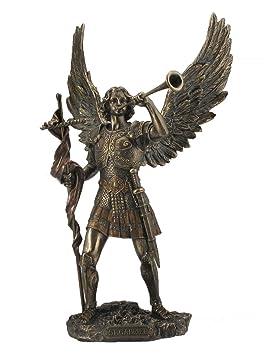 Figura del Arcángel Gabriel con Trompeta