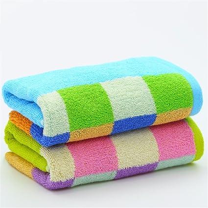 GEBS Toalla de cara suave de algodón puro cute polka dot lavar toallas/parejas masculinas