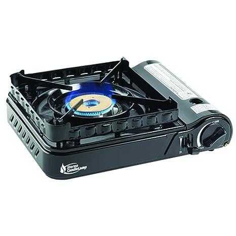 Amazon.com: Sterno 50108 portátil estufa de butano con Piezo ...