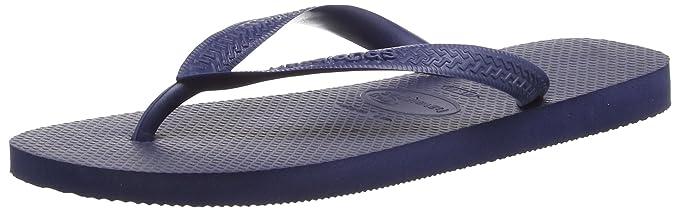 7195805d415a Havaianas Slim Navy Blue Flip Flops - UK 8 - BR 41 42  Amazon.co.uk ...