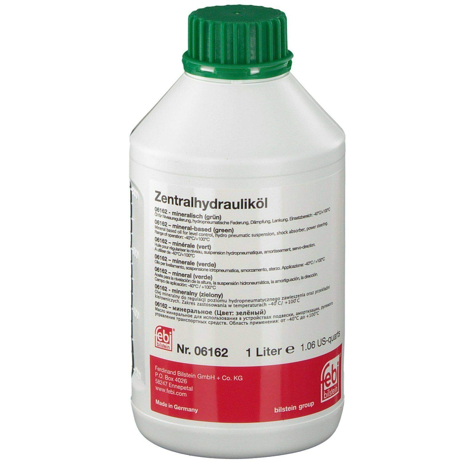 FEBI Hydraulic System Fluid - CHF 7.1 Mineral Oil for Power Steering and Hydraulic System (1 Liter) 81221468879